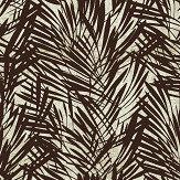 Lelievre Palmeraie Brown / Silver Wallpaper - Product code: 6442-01