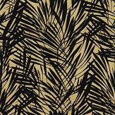 Lelievre Palmeraie Black / Gold Wallpaper - Product code: 6442-02