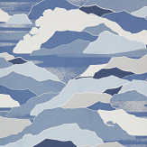 Lelievre Colline Blue Wallpaper - Product code: 6443-03
