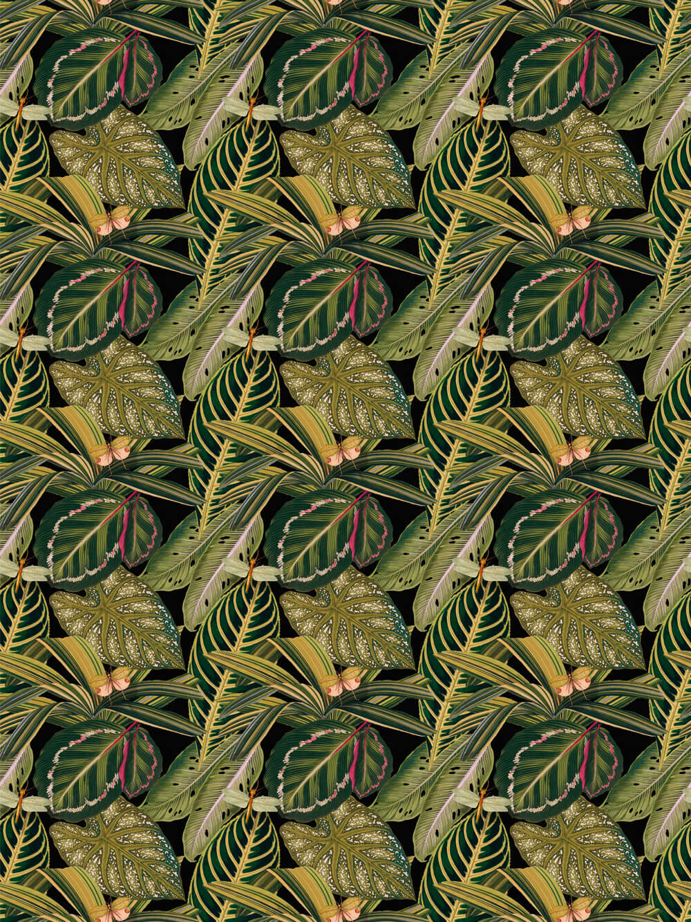 Mind the Gap Amazonia Green Fabric - Product code: FB00005