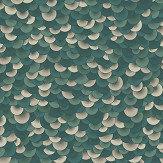 Jean Paul Gaultier Ecailles Aqua Wallpaper - Product code: 3327/02