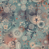 Jean Paul Gaultier Etoiles Blue Wallpaper - Product code: 3332/02