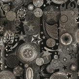 Jean Paul Gaultier Etoiles Black Wallpaper - Product code: 3332/03