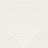 Cole & Son Feather Fan Metallic Cornflower on Ink Wallpaper - Product code: 89/4015