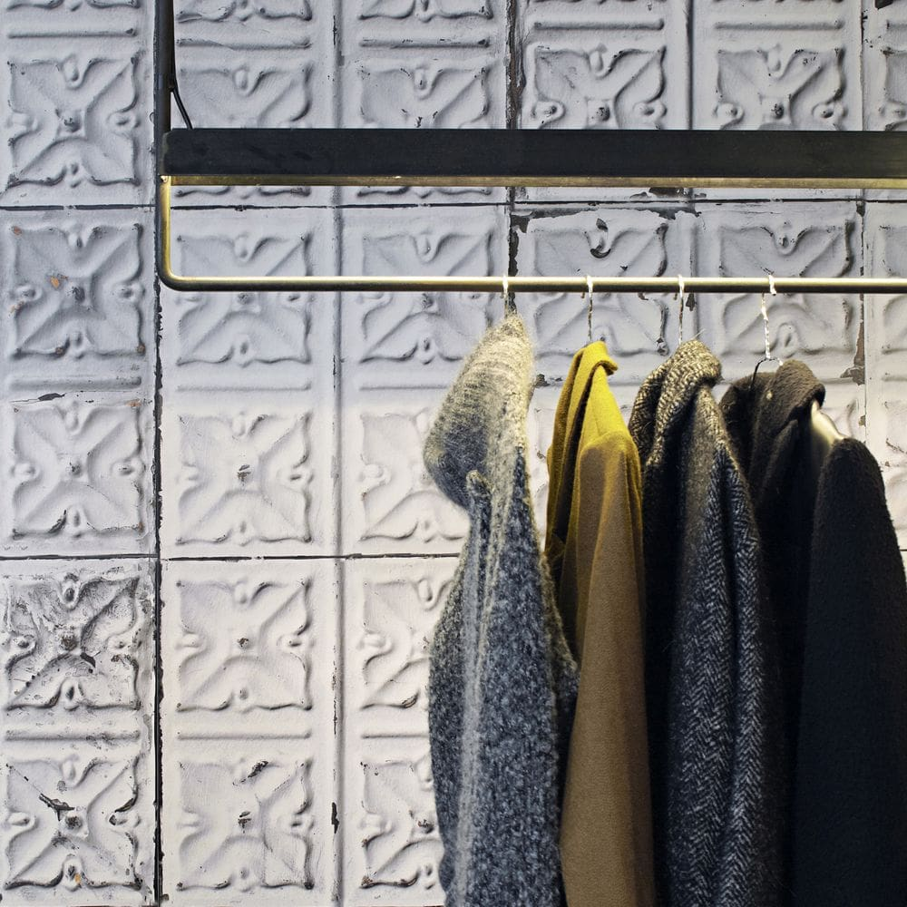 Brooklyn Tins Wallpaper - Grey - by NLXL