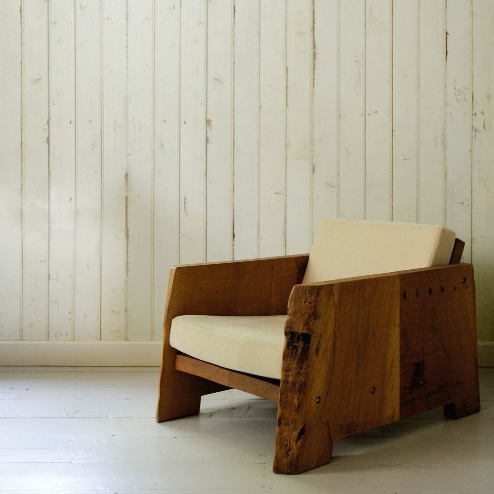 NLXL Scrapwood White Wallpaper - Product code: PHE-08