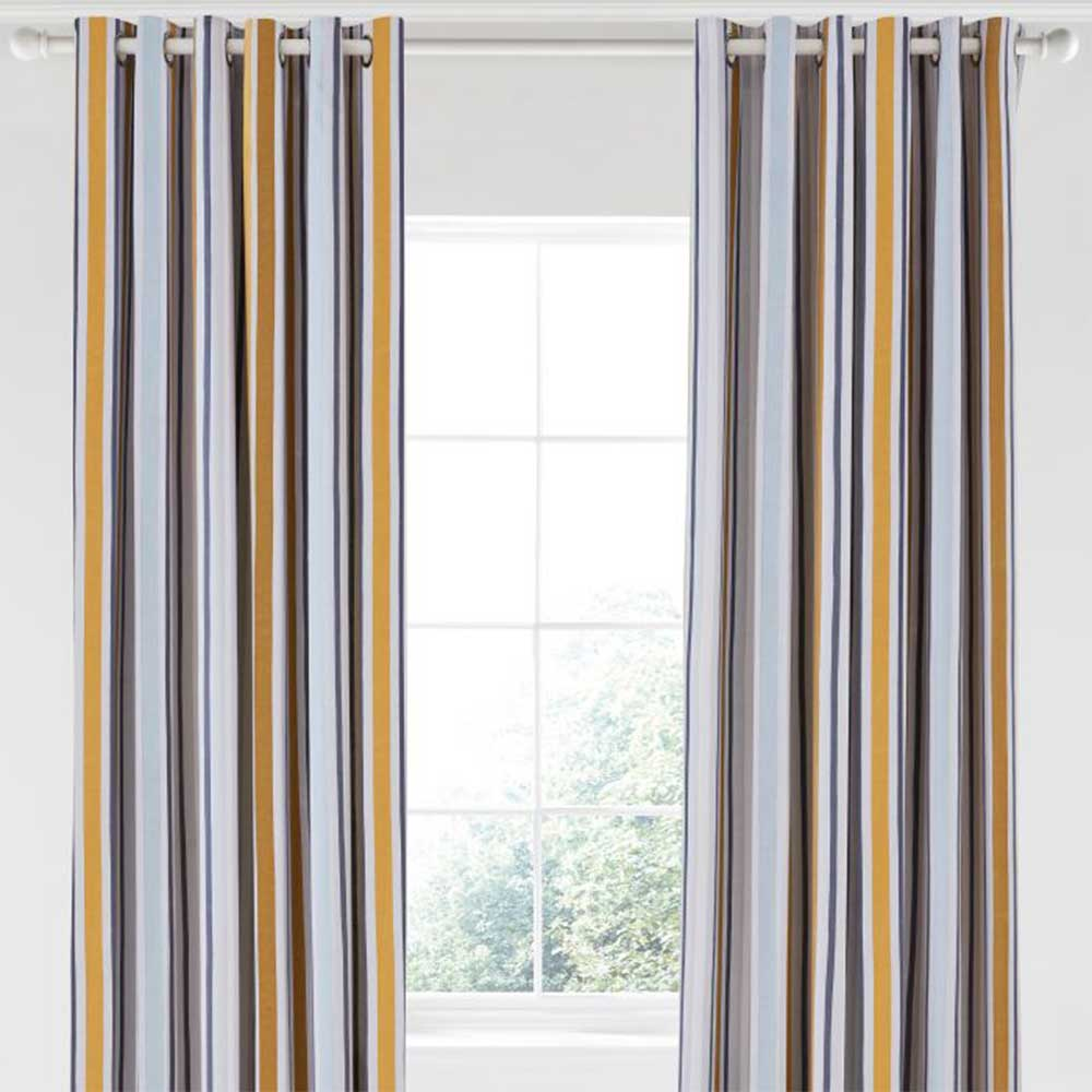 Lintu Eyelet Curtains Ready Made Curtains - Dandelion & Pebble - by Scion
