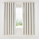 Scion Composition Eyelet Curtains Putty Ready Made Curtains - Product code: LCRCOOP7PUT