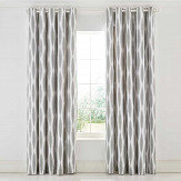 Scion Usuko Eyelet Curtains Grey & White Ready Made Curtains - Product code: LCRUKOR7RSE
