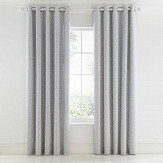 Scion Pajaro Eyelet Curtains Steel Ready Made Curtains - Product code: LCRPAJS7STE
