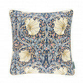 Morris Pimpernel Cushion Indigo/ Hemp - Product code: DCUB257018C