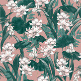 Accessorize Celeste Blush / Green Wallpaper - Product code: 274508