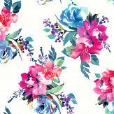 Accessorize Amelie Multi Coloured Wallpaper - Product code: 274607