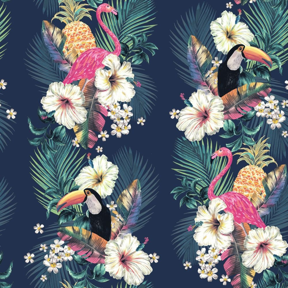 Accessorize Maui Ink Blue Wallpaper - Product code: 274706