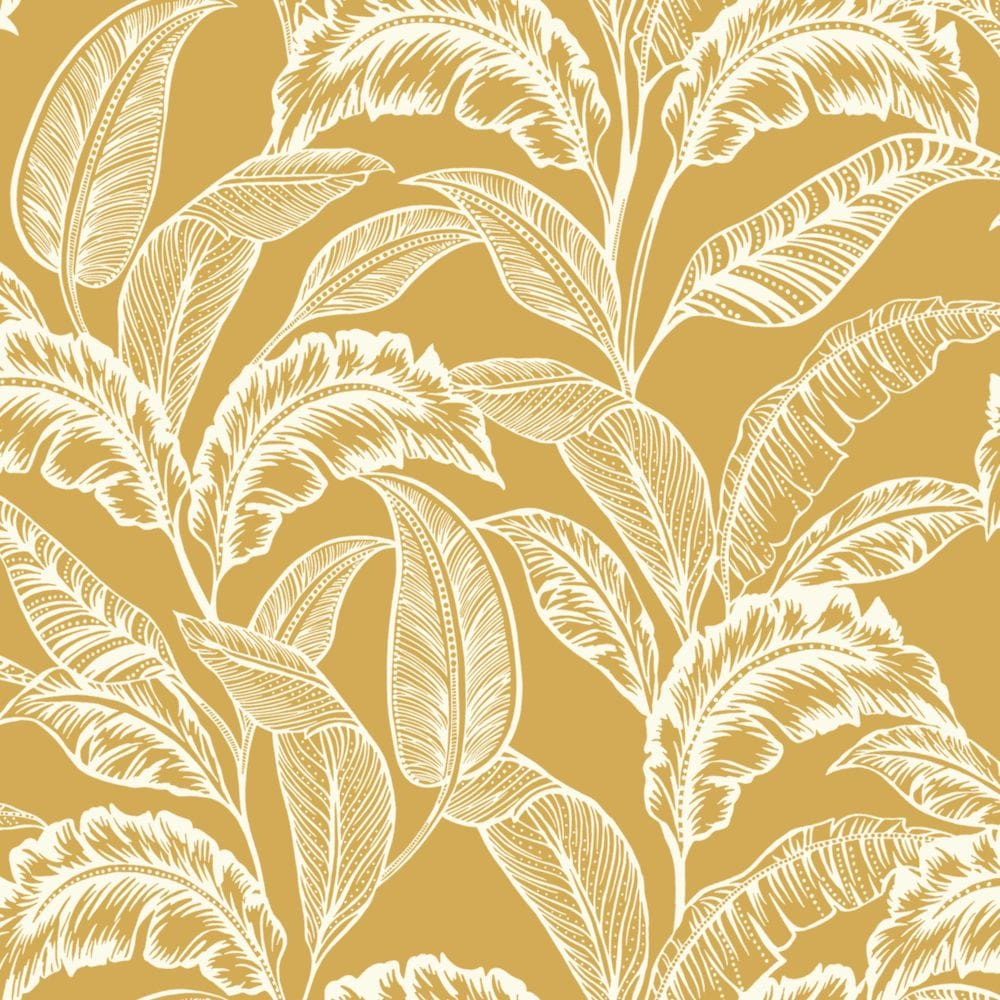 Accessorize Mozambique Ochre Yellow Wallpaper - Product code: 275109