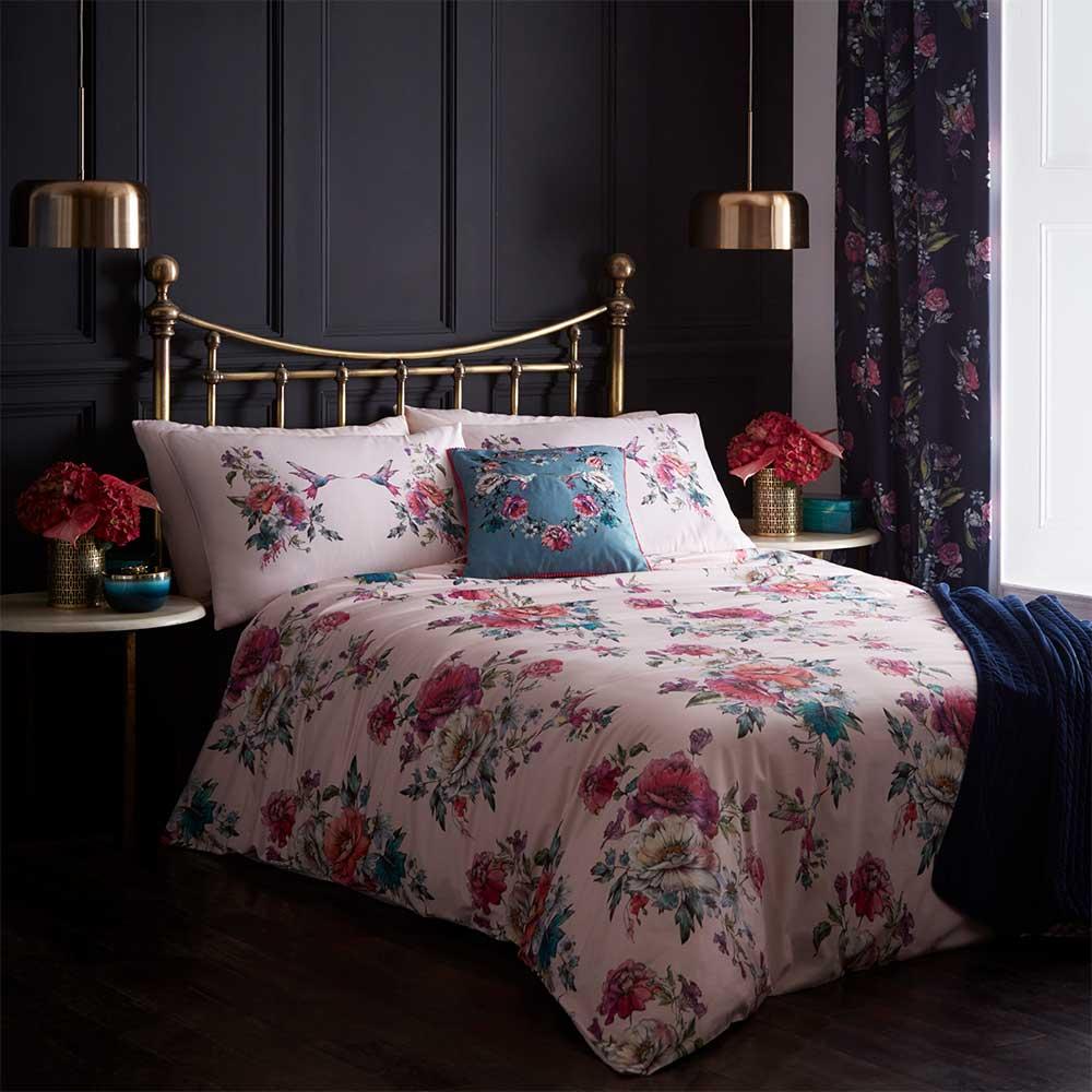 Oasis Leena Duvet Set Blush Duvet Cover - Product code: M0016/01/SK