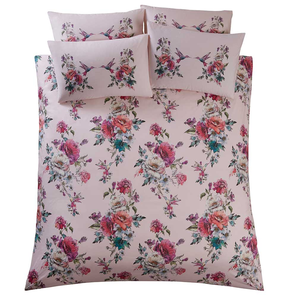 Oasis Leena Pillowcase Pair Blush - Product code: M2038/01