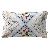 Patchwork Boudoir Cushion - Seafoam - by Oasis