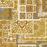 Versace Deconpage Cream and Gold Wallpaper - Product code: 37048-4