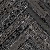 Versace Eterno Tile Black Wallpaper - Product code: 37051-4