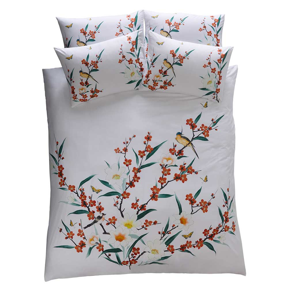 Osaka Pillowcase Pair - Ivory - by Oasis