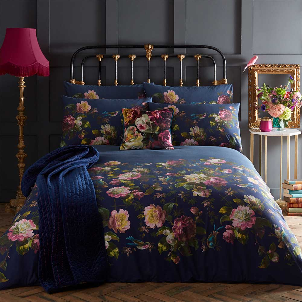 Oasis Renaissance Pillowcase Pair Midnight - Product code: M2037/01