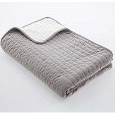 Oasis Velvet Throw Grey - Product code: M3101/01