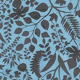Christian Lacroix L'eden  Blue Wallpaper - Product code: PCL7025/06