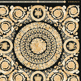 Versace Heritage Black with Gold Wallpaper - Product code: 37055-3