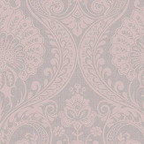 Arthouse Luxe Damask Dusky Rose Wallpaper - Product code: 910306