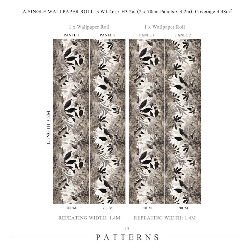 17 Patterns Kimolia Tobacco Mural - Product code: A04-KM-04W