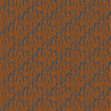 Ella Doran Brushwood Bark Dark Blue / Brown Wallpaper - Product code: Brushwood Bark