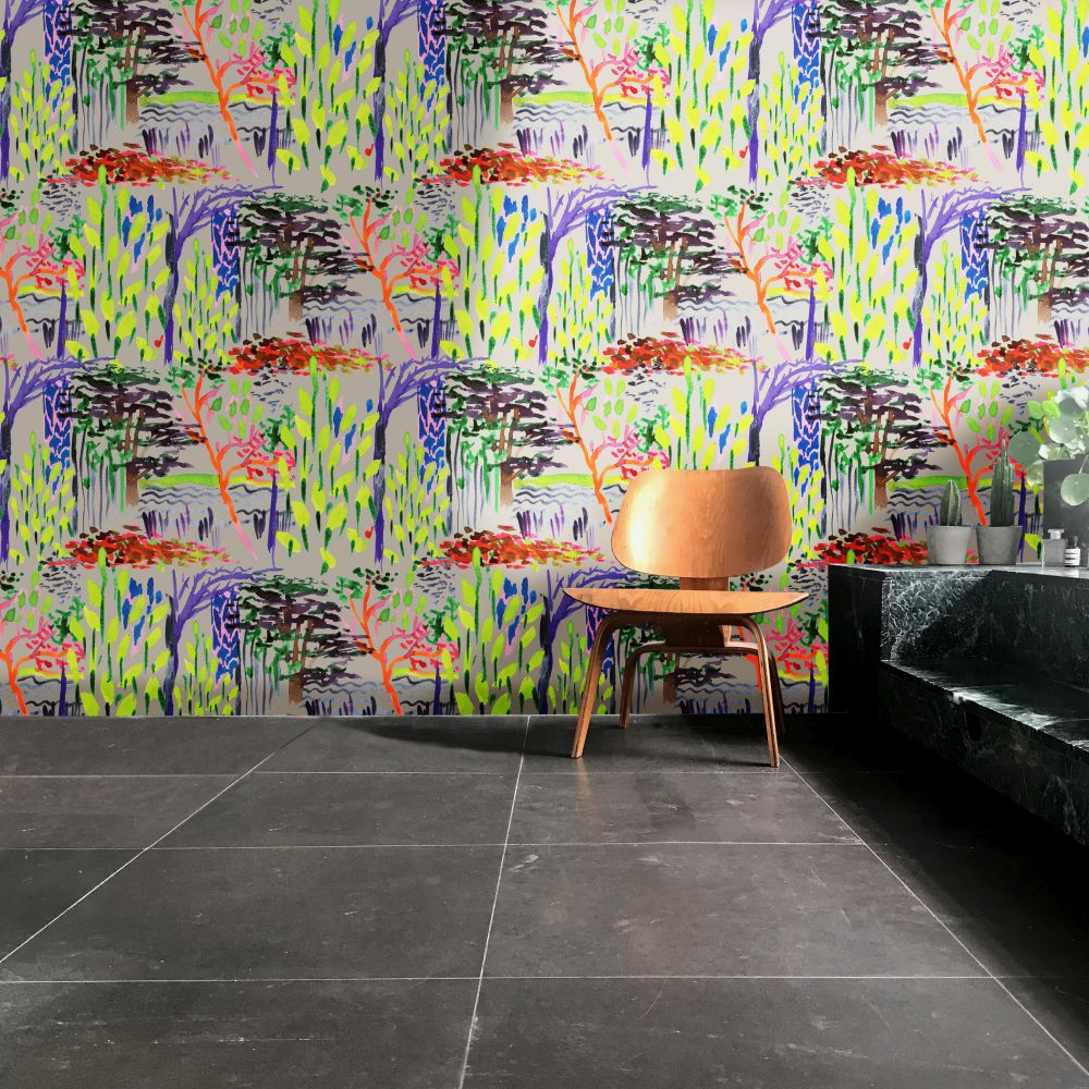 Ella Doran Magic Garden Multi Coloured Wallpaper - Product code: Magic Garden