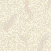 Versace Barocco Birds Cream and Gold Wallpaper - Product code: 37053-5