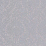 Arthouse Luxe Damask Silver Wallpaper - Product code: 906609