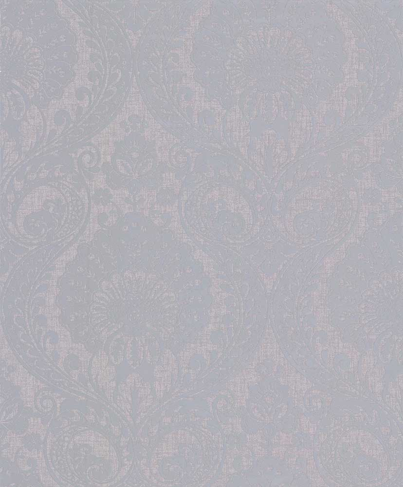 Luxe Damask By Arthouse Silver Wallpaper Wallpaper Direct