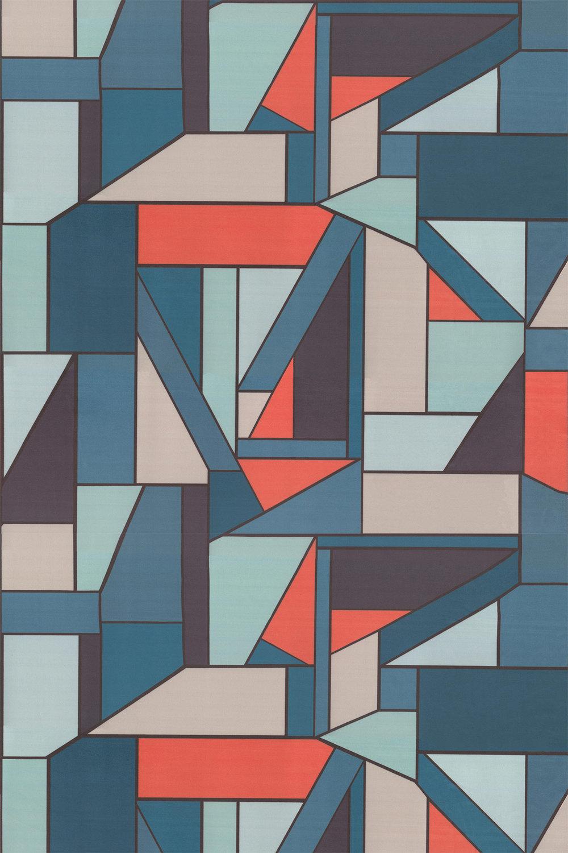 Beton Fabric - Pimento - by Scion