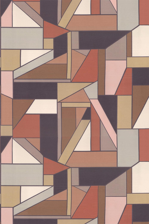 Beton Fabric - Spice - by Scion