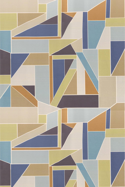 Beton Fabric - Papaya - by Scion