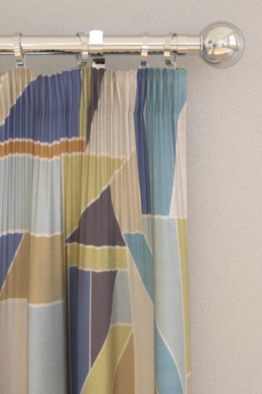 Scion Beton Papaya Curtains - Product code: 120788