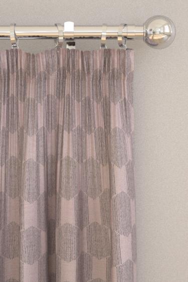 Scion Himmeli Liquorice Curtains - Product code: 132866