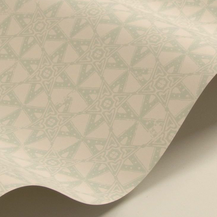 Barneby Gates Star Tile Sage Wallpaper - Product code: BG2000201