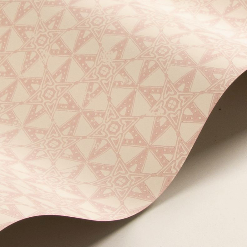 Star Tile Wallpaper - Pink - by Barneby Gates