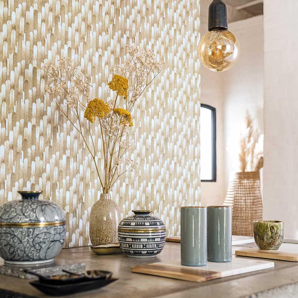 Casadeco Ocelle Grey Wallpaper - Product code: 83851202