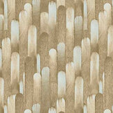 Casadeco Ocelle Brown / Blue Wallpaper - Product code: 83852320