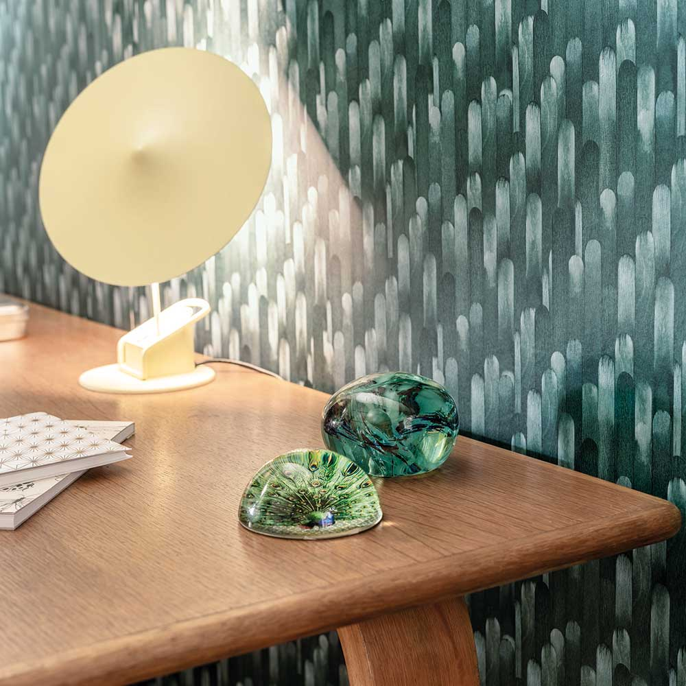 Casadeco Ocelle Green Wallpaper - Product code: 83857522