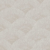Casadeco Walter Foil Taupe  / Silver Wallpaper - Product code: 84099136