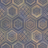 Brewers Hexagon Dark Multicoloured Wallpaper - Product code: 23735
