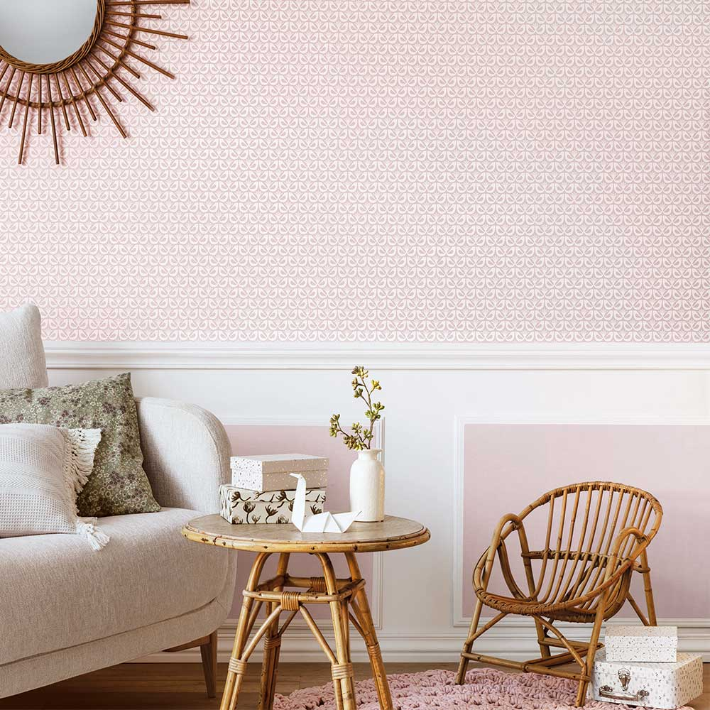 Caselio Freedom Old Rose Wallpaper - Product code: 100584515