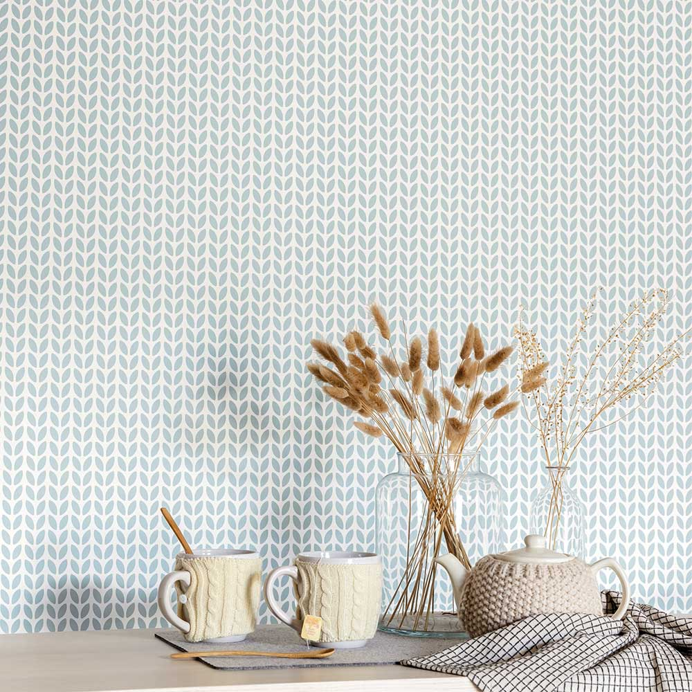 Caselio Simplicity Blue Wallpaper - Product code: 100557100